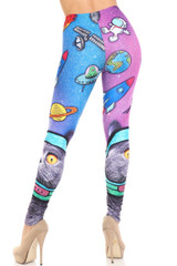 Creamy Soft Space Cat Leggings - USA Fashion™