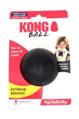 KONG Extreme Black Bounce Ball Dog Toy - Medium Large