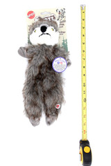 Spot Furzz Large Stuffing Free Wolf Squeaky Dog Toy