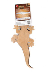 Spot Skinneeez Leather Lizard Squeaky Dog Toy
