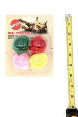 Fluffy Balls Cat Toys with Catnip