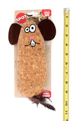 Spot Hug'N Kick Corkies Natural Cork Catnip Cat Toy