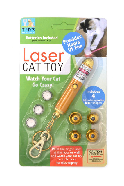 Laser Light Keychain Cat Toy