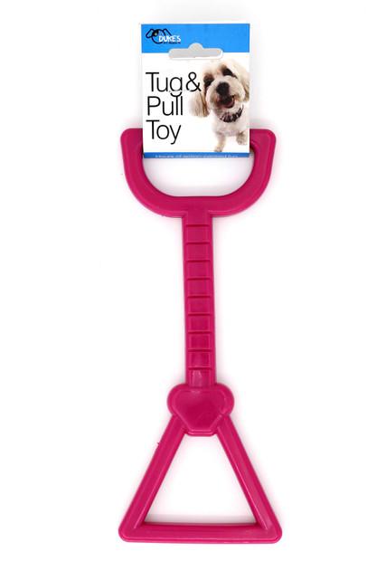 Magenta Tug and Pull Dog Toy