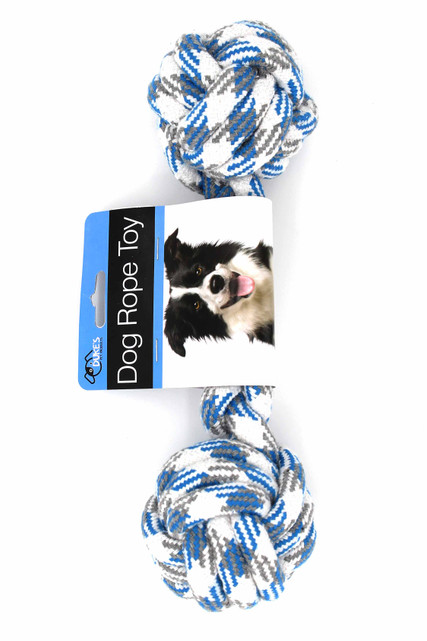 Large Double Knotted Dog Rope Toy