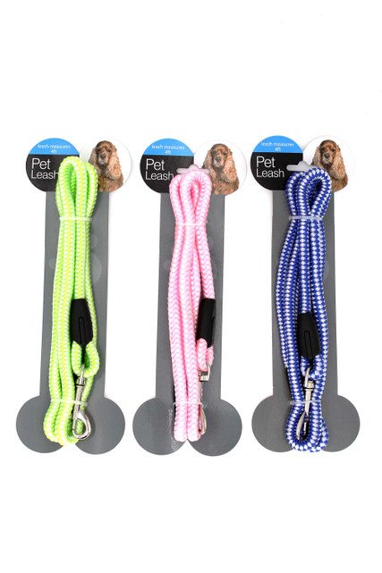 Nylon Rope Dog Leash - 4 Ft