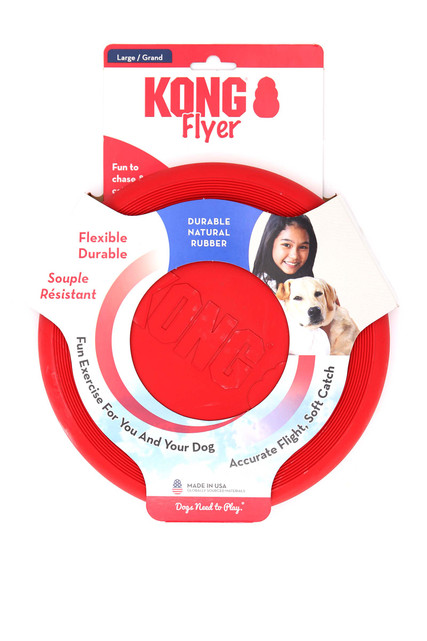KONG Flyer Disc Dog Toy
