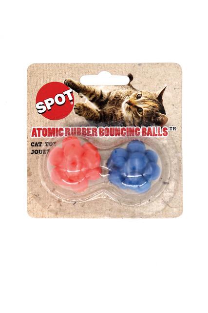 Spot Atomic Rubber Bouncing Ball Cat Toys
