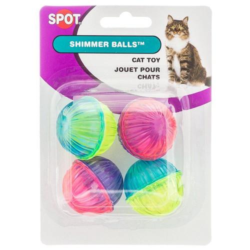 Spot Rattle Shimmer Ball Cat Toys