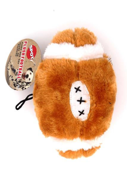 Spot Plush Squeaky Football Dog Toy