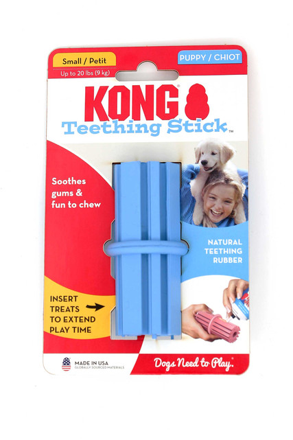 Kong Teething Stick Puppy Dog Toy - Small