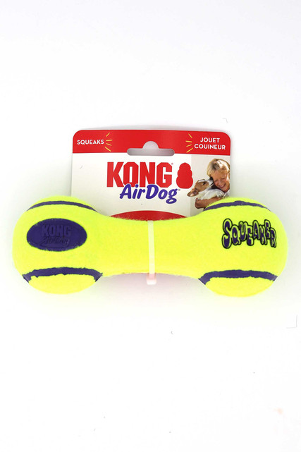 KONG AirDog Dumbell Squeaky Fetch Dog Toy