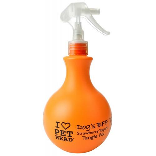 Pet Head Dog's BFF Tangle Fix Spray - Strawberry Yogurt Scent