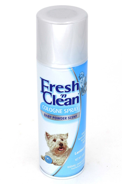 Fresh 'n Clean Dog Cologne Spray - Baby Powder Scent