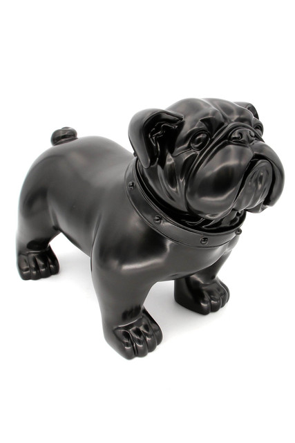 Black French Bulldog Life Like Model Effigy
