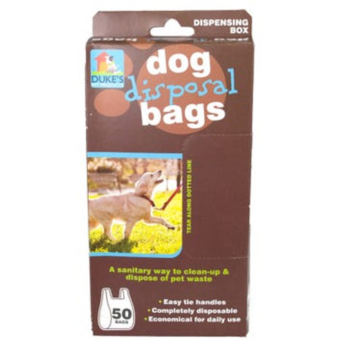 Dog Waste Disposal Bags - 50 Bags