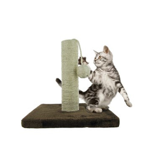 Cat Scratching Post with Hanging Ball