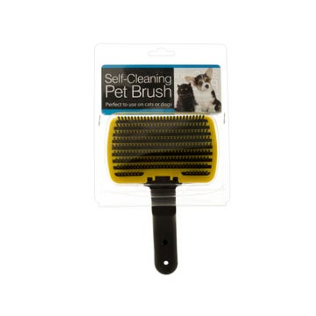Self-Cleaning Dog and Cat Pet Grooming Brush