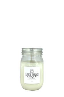 Lumi Bean vegan organic soy coconut scented candle