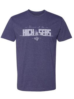 High Seas Blue T-Shirt Front