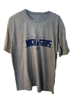 High Seas Heather Gray T-Shirt Front