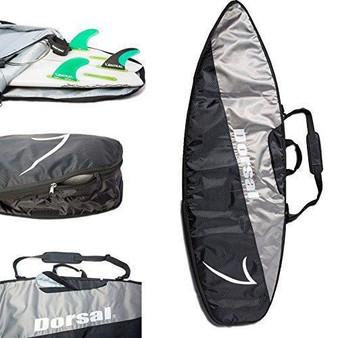 DORSAL Travel Shortboard and Longboard Surfboard Board Bag Cover