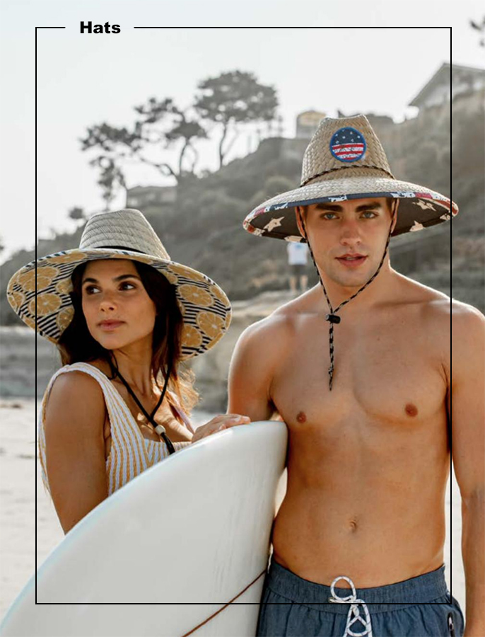 Shop our amazing selection of Lifeguard straw hats and snapback ball caps