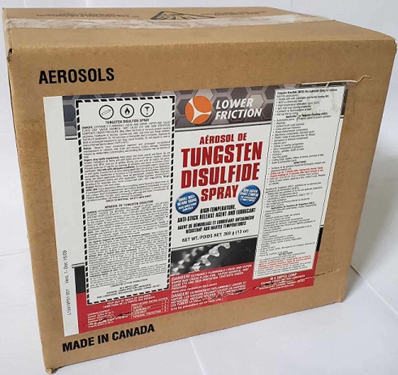 Tungsten Disulfide (WS2) Aerosol Spray, 13 Oz/370 gram Can