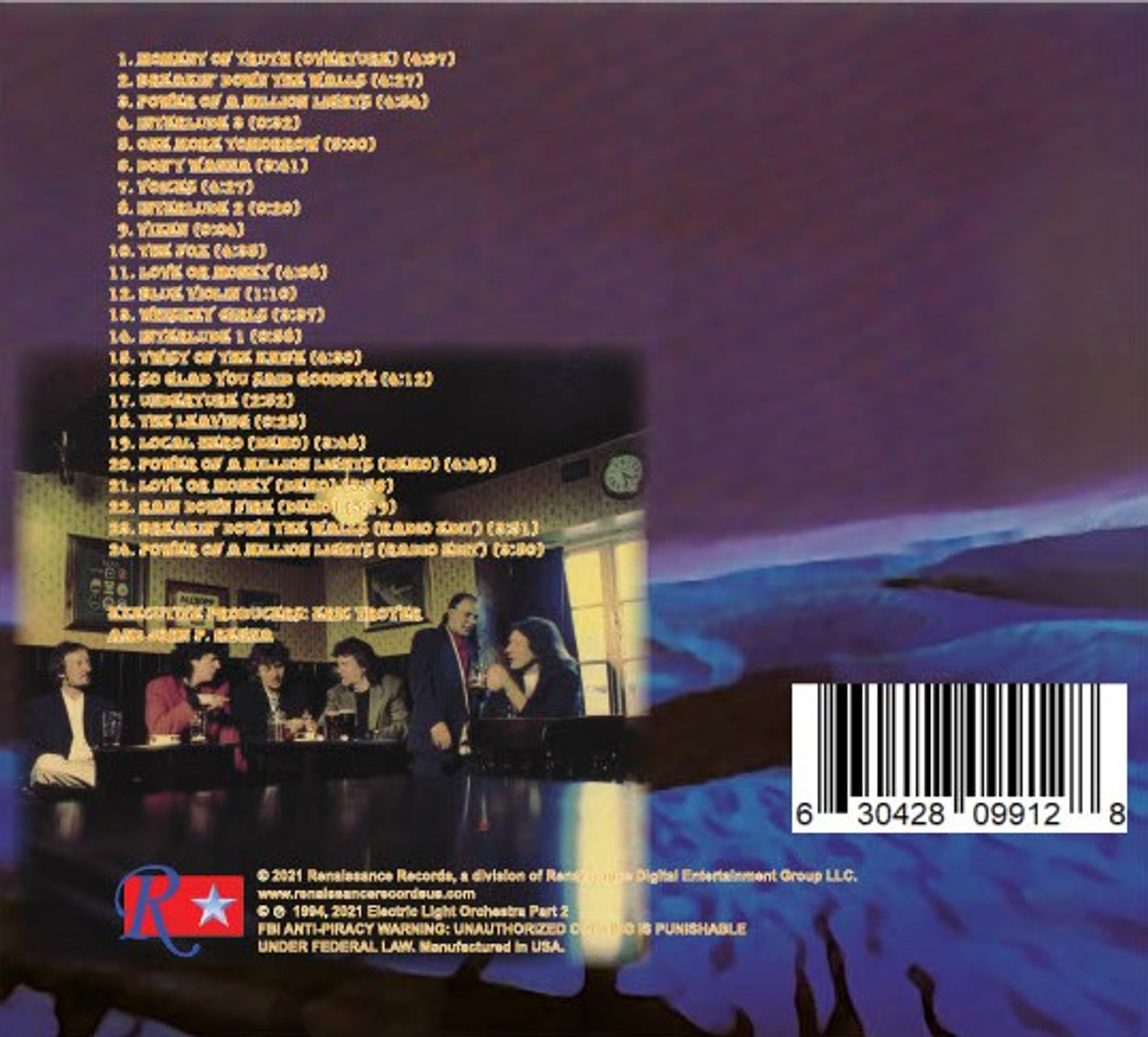 Moment of Truth by Electric Light Orchestra Part II available on CD with bonus tracks