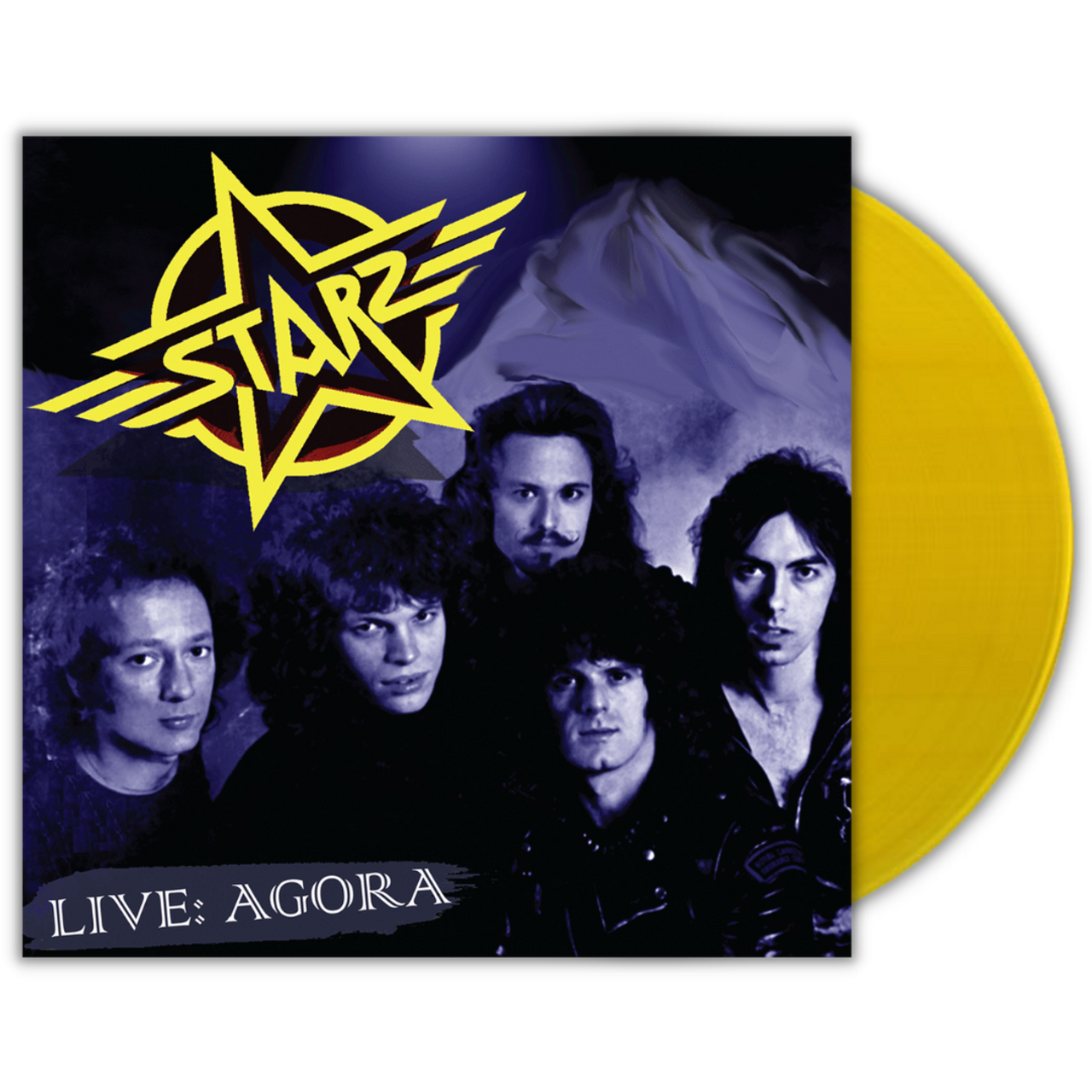 Live: Agora by Starz available on colored yellow vinyl