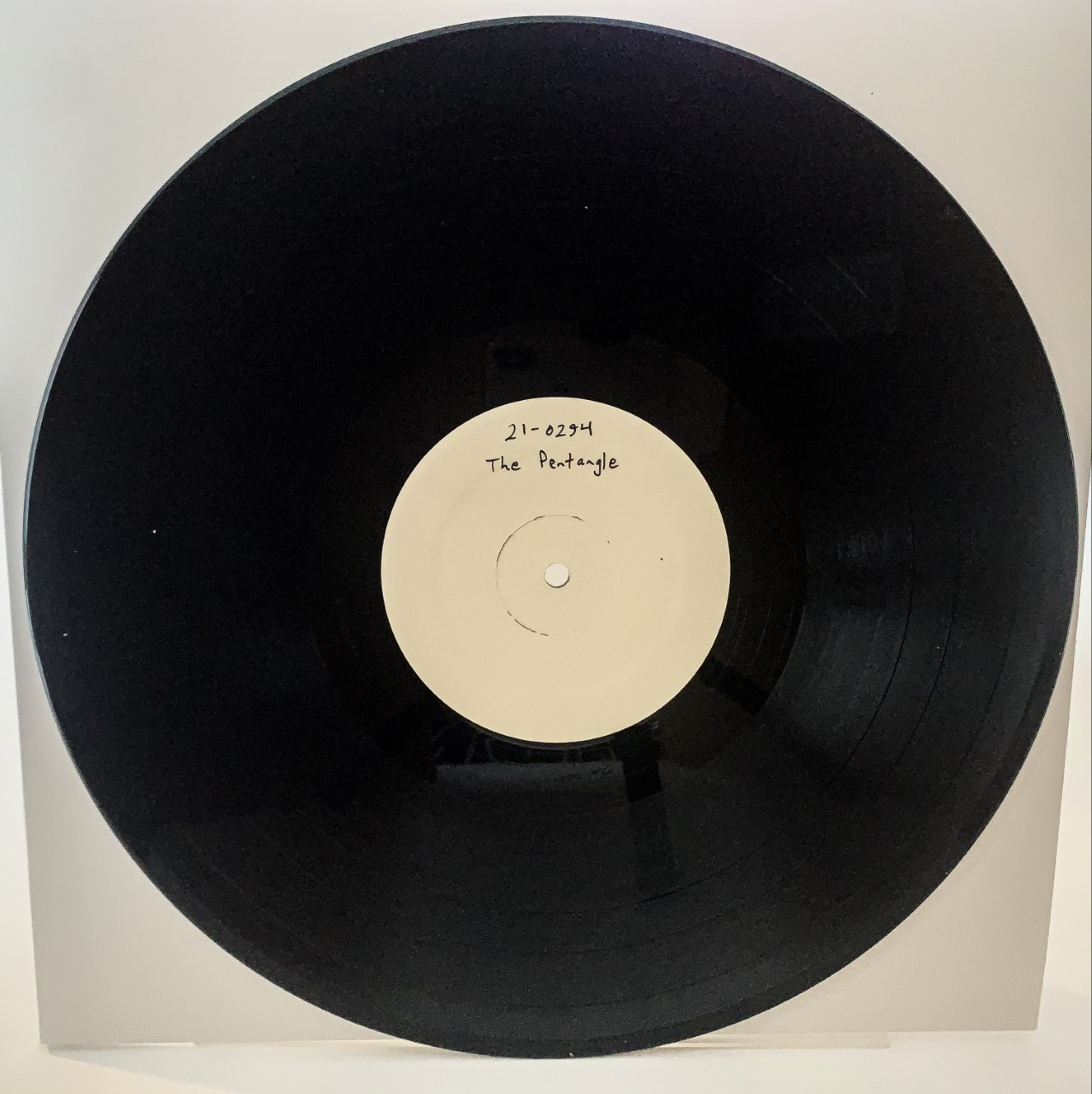The Pentangle LP Test Pressing available now.