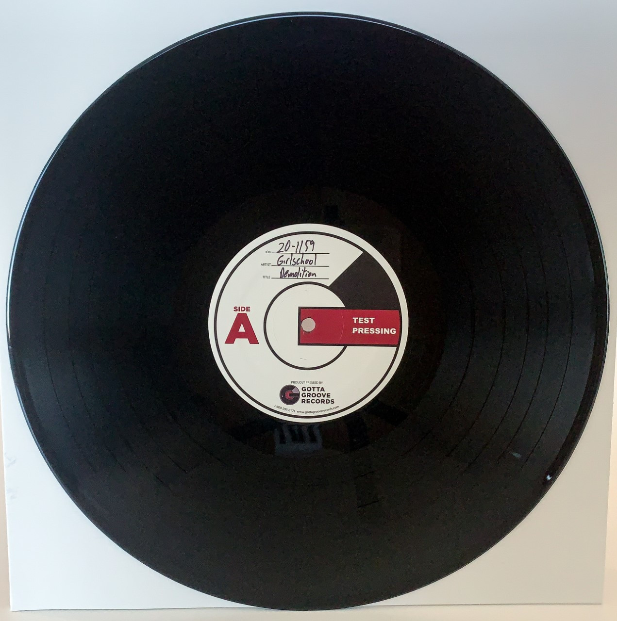 Demolition by Girlschool LP Test Pressing available now.