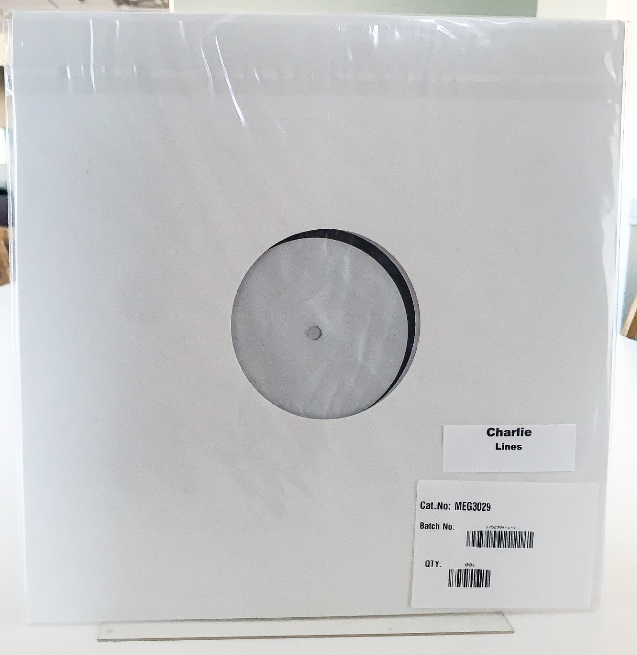 Lines by Charlie test pressing available now.