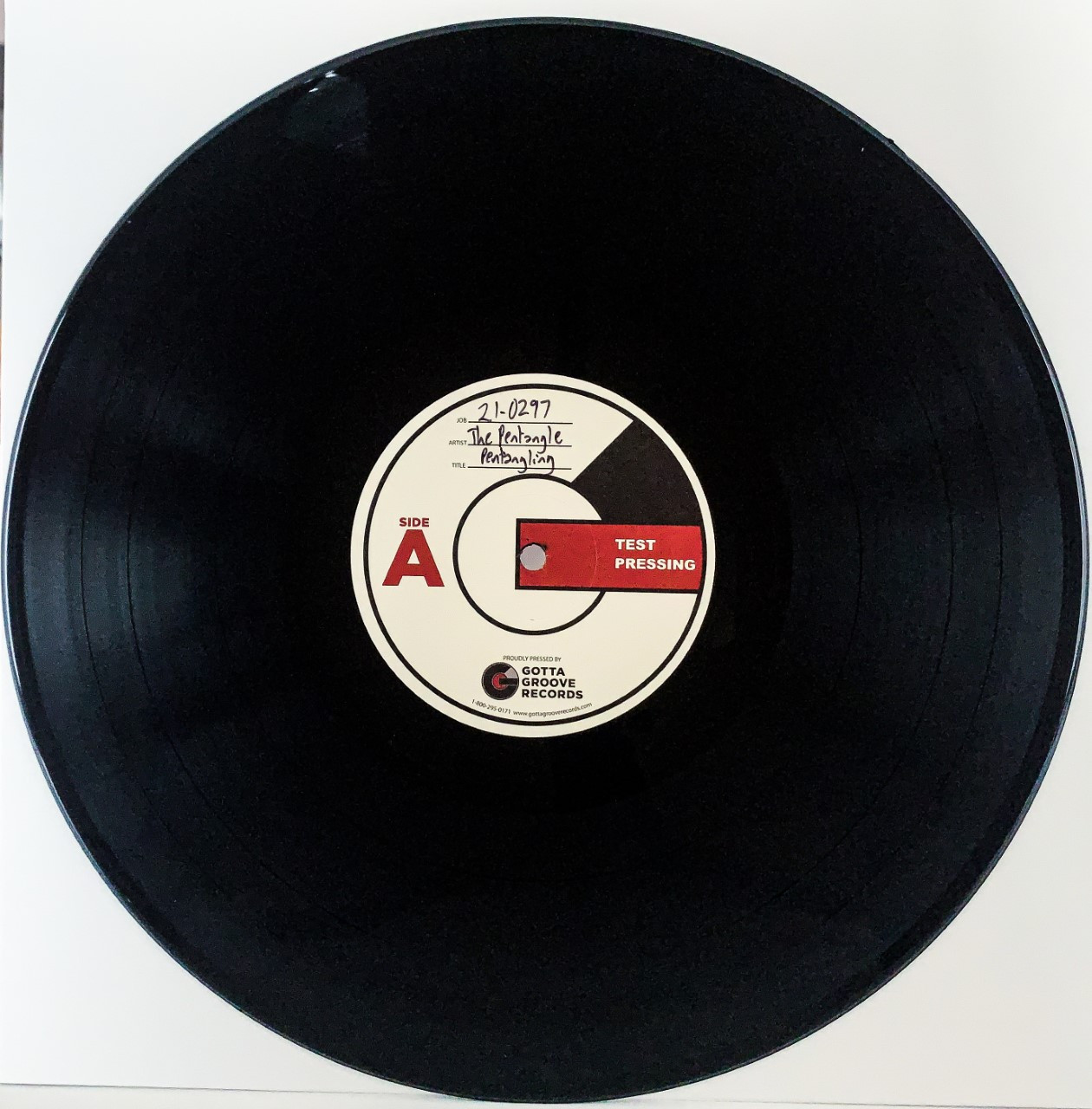 Pentangling by The Pentangle vinyl test pressing available now.