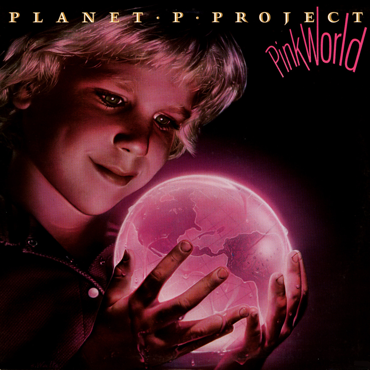 Planet P Project & Pink World released by the group Planet P Project AKA Tony Carey available on LP and CD Deluxe bundle.