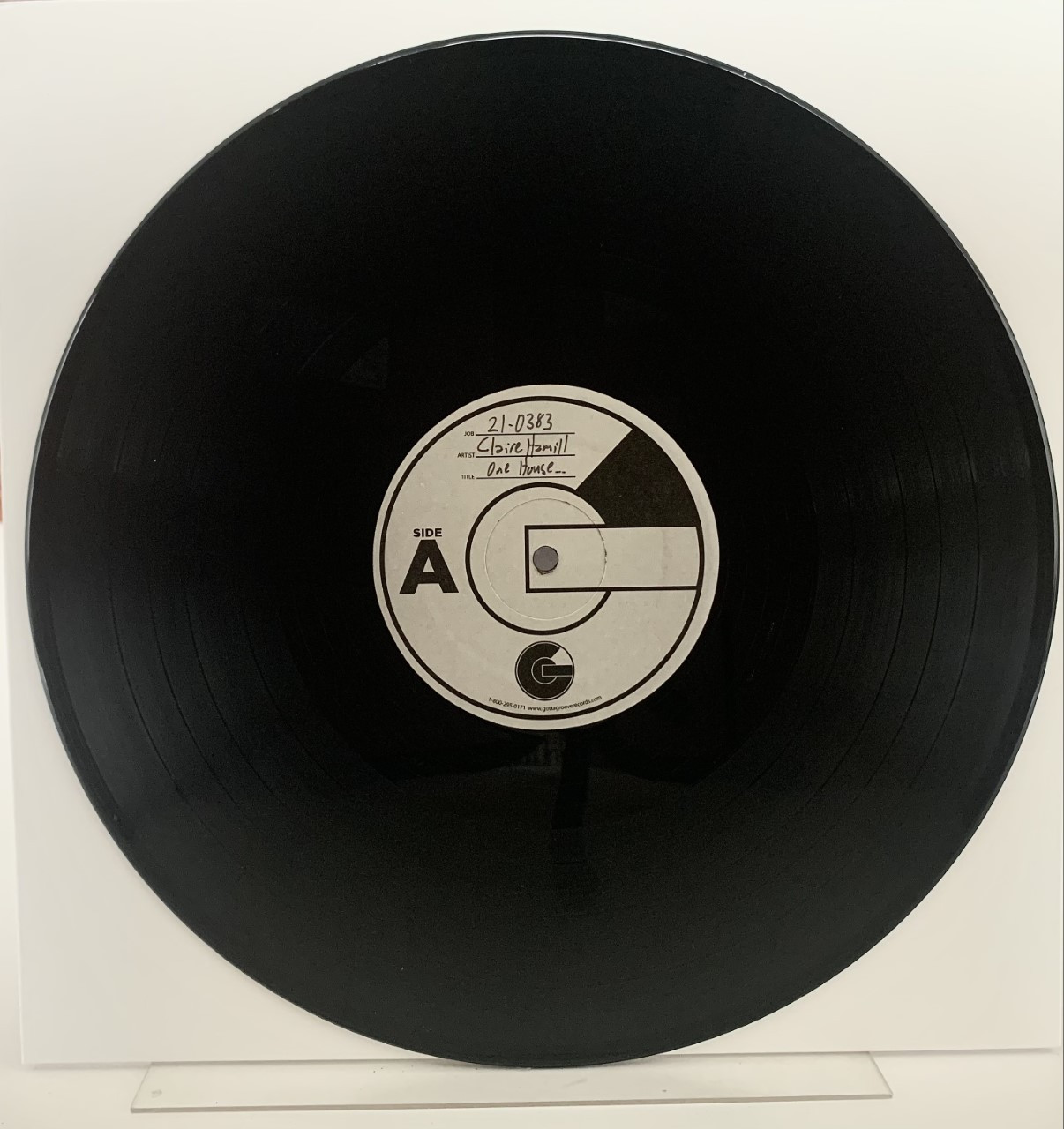 One House Left Standing by Claire Hamill LP test pressing available now.