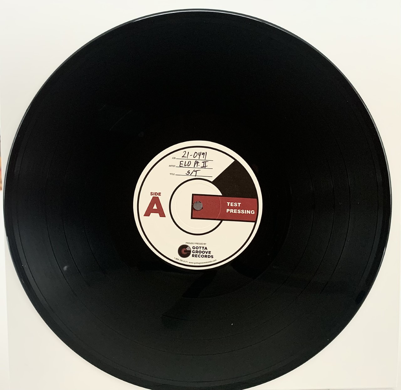 Electric Light Orchestra Part Two by ELO Part Two LP Test Pressing available now.
