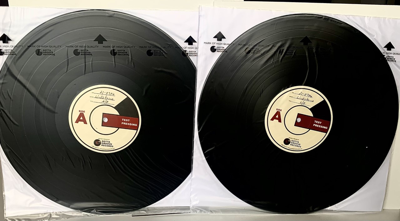Magic In The Air (Live) by Lindisfarne 2LP Test Pressing available now.