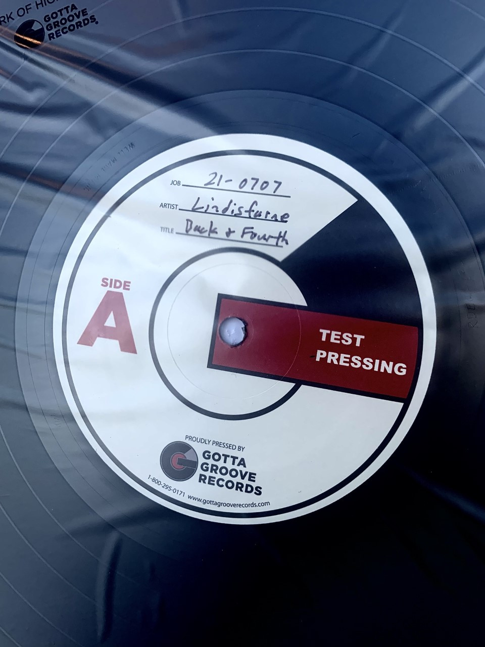 Back And Fourth by Lindisfarne LP Test Pressing available now.