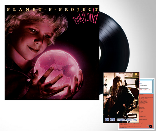 Pink World released by the group Planet P Project AKA Tony Carey available on 180 gram vinyl