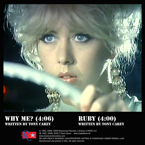 Why Me? / Ruby released by the group Planet P Project AKA Tony Carey available on a green 45 RPM 7-inch LP single.