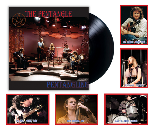 Pentangling by British folk-jazz band The Pentangle available on 180 gram vinyl