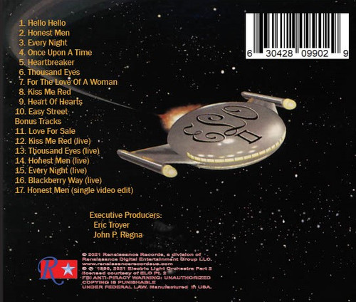 Electric Light Orchestra Part II by Electric Light Orchestra Part II ELO Part II available on CD