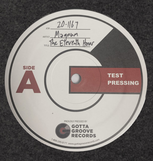 The Eleventh Hour by Magnum Test Pressing available now.