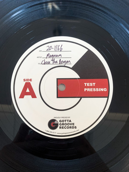 Chase the Dragon by Magnum Test Pressing available now.