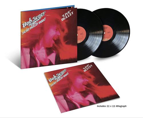 Live Bullet by Bob Seger & The Silver Bullet Band available on a double LP.
