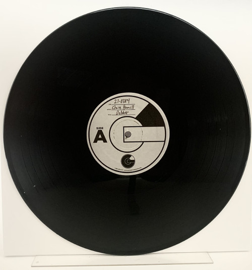 October by Claire Hamill LP test pressing available now.