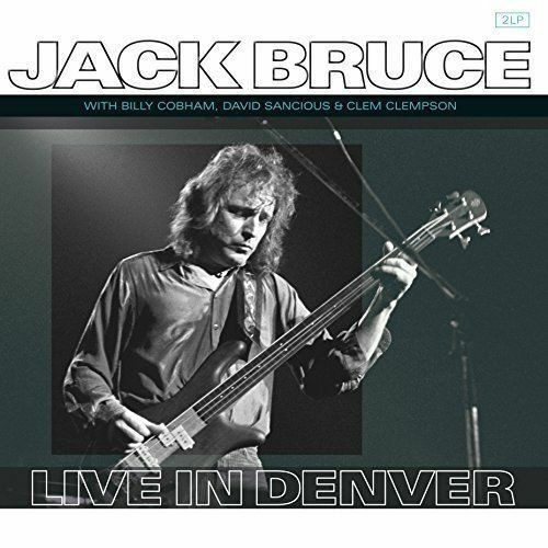 Live In Denver by Jack Bruce available now on vinyl.