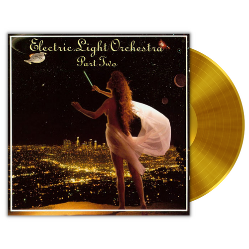 Electric Light Orchestra Part II Self-Titled 150g Transparent Gold LP Variant available for preorder now!