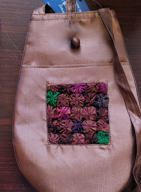 95 Hand Made Accessories Silk Project Bag by Plymouth Yarn